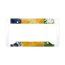 Saint Vincent Flag License Plate Holder