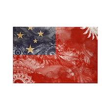 Samoa Flag Rectangle Magnet