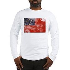 Samoa Flag Long Sleeve T-Shirt