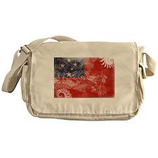 Samoa Flag Messenger Bag