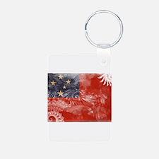 Samoa Flag Keychains