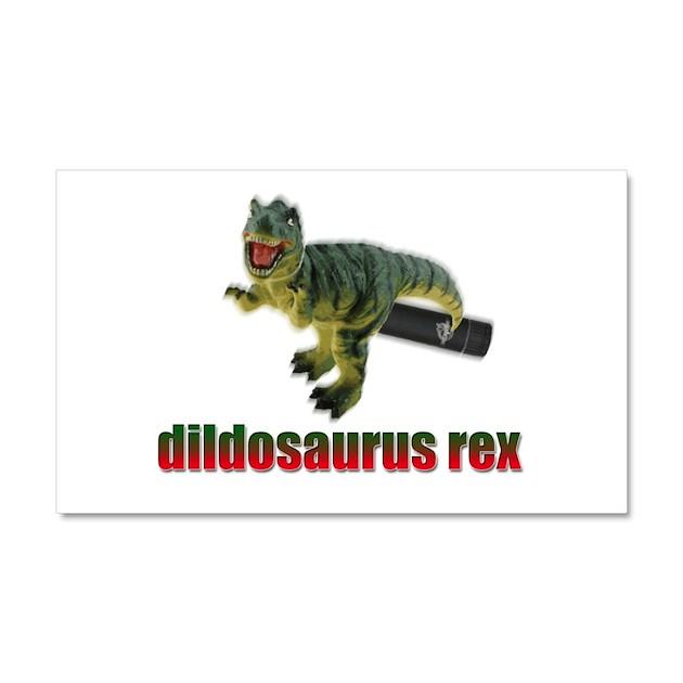 Dildosaurus Rex Car Magnet 20 X 12 By Dildosaurusrex
