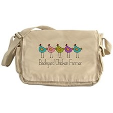 Backyard Chicken Farmer Messenger Bag