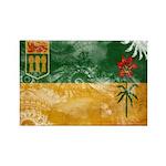Saskatchewan Flag Rectangle Magnet (10 pack)