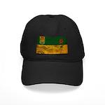 Saskatchewan Flag Black Cap