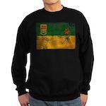 Saskatchewan Flag Sweatshirt (dark)