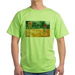 Saskatchewan Flag Green T-Shirt