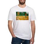 Saskatchewan Flag Fitted T-Shirt