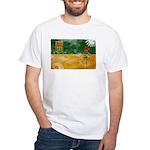 Saskatchewan Flag White T-Shirt