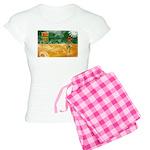 Saskatchewan Flag Women's Light Pajamas