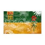 Saskatchewan Flag 38.5 x 24.5 Wall Peel