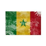 Senegal Flag Rectangle Magnet (10 pack)