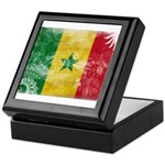 Senegal Flag Keepsake Box