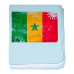 Senegal Flag baby blanket