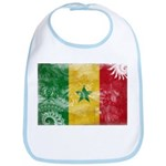 Senegal Flag Bib