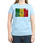 Senegal Flag Women's Light T-Shirt
