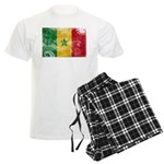 Senegal Flag Men's Light Pajamas