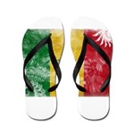Senegal Flag Flip Flops