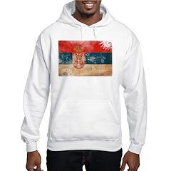 Serbia Flag Hoodie