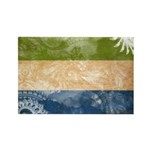 Sierra Leone Flag Rectangle Magnet (100 pack)