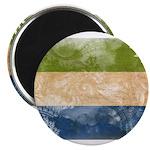 Sierra Leone Flag Magnet