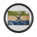 Sierra Leone Flag Large Wall Clock
