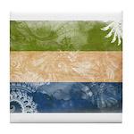 Sierra Leone Flag Tile Coaster
