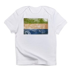 Sierra Leone Flag Infant T-Shirt