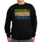 Sierra Leone Flag Sweatshirt (dark)