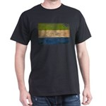 Sierra Leone Flag Dark T-Shirt