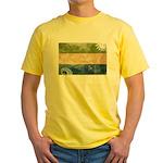 Sierra Leone Flag Yellow T-Shirt
