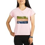 Sierra Leone Flag Performance Dry T-Shirt