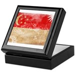 Singapore Flag Keepsake Box