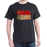 Singapore Flag Dark T-Shirt