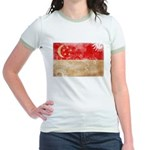 Singapore Flag Jr. Ringer T-Shirt