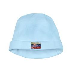 Slovakia Flag baby hat