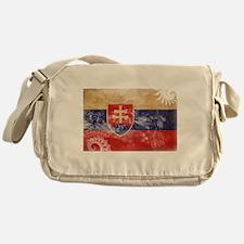 Slovakia Flag Messenger Bag