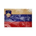 Slovenia Flag Rectangle Magnet (10 pack)