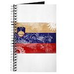 Slovenia Flag Journal