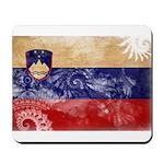 Slovenia Flag Mousepad