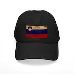 Slovenia Flag Black Cap