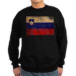 Slovenia Flag Sweatshirt (dark)