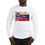 Slovenia Flag Long Sleeve T-Shirt