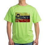 Slovenia Flag Green T-Shirt