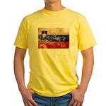 Slovenia Flag Yellow T-Shirt