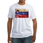 Slovenia Flag Fitted T-Shirt