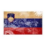 Slovenia Flag 38.5 x 24.5 Wall Peel