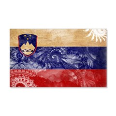 Slovenia Flag 22x14 Wall Peel