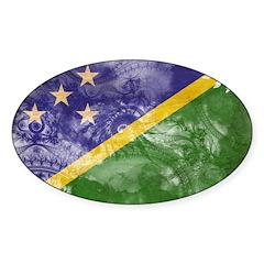 Solomon Islands Flag Decal