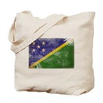 Solomon Islands Flag Tote Bag